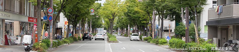 武庫之荘駅耳鼻科